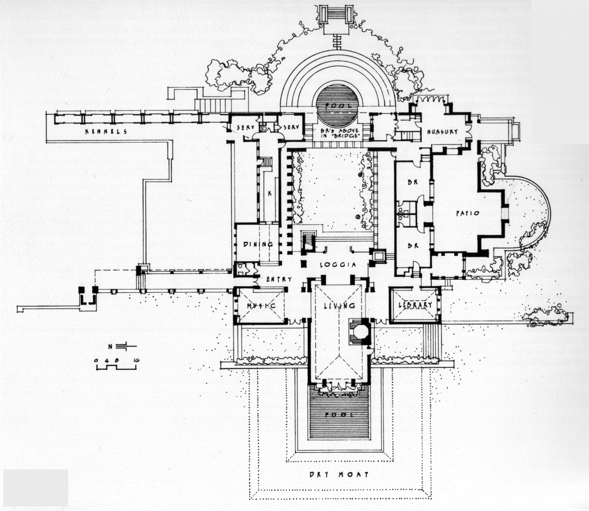 Plans to build frank lloyd wright home plans pdf plans for Frank lloyd wright house design