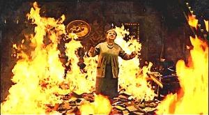 FotoSketcher - book-burning
