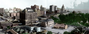 Tinted panorama