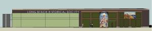Primary facade