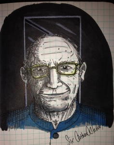 Sir Arthur C. Clarke, prophet and poet.