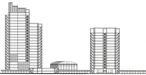 This is the comparison with the City Hall structure and their connectors.