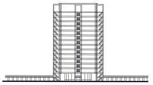 General concept of the City Hall tower.