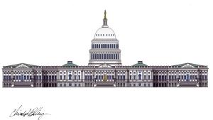 US Capitol, digital
